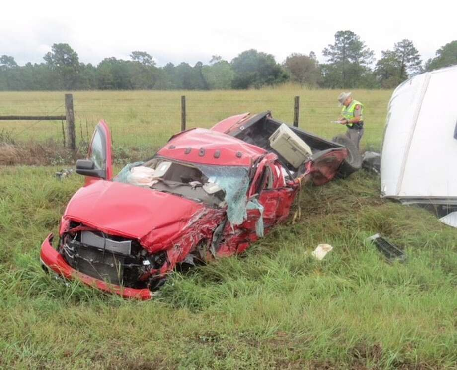 The Department of Public Safety is investigating a wreck that killed four and injured one in Tyler County Monday, September 3, 2018.