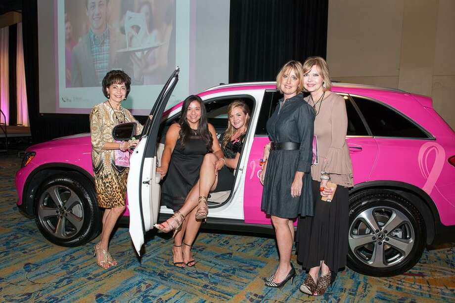 The 5th annual  Wine Women & Shoes Houston, presented by EXIT Lone Star Realty, is happening Thursday.Wine Women & Shoes entails wine tastings provided by CHLOE Wine, shopping  from local vendors and a New York style runway show with looks provided by Dillards. Photo: Courtesy Photo / TARA FLANNERY