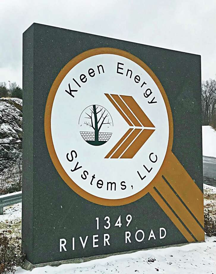 The Kleen Energy natural gas plant at 1349 River Road, Middletown, was the scene of a fire Monday morning. Photo: File Photo