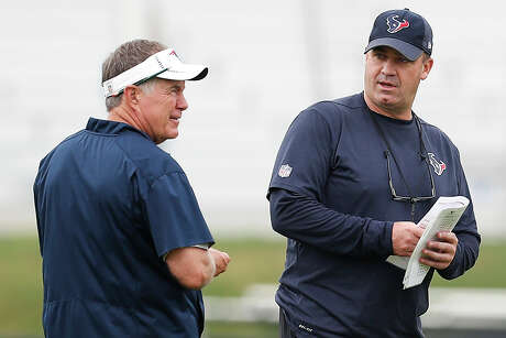 Texans coach Bill O'Brien is vying for his first victory in five tries against mentor Bill Belichick.