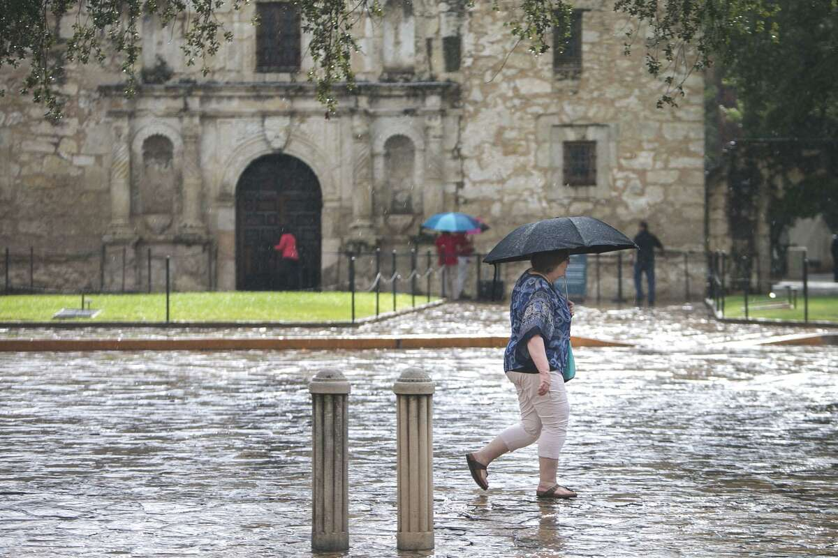 According to the National Weather Service, the storms will continue through the week and into Saturday in the San Antonio area.