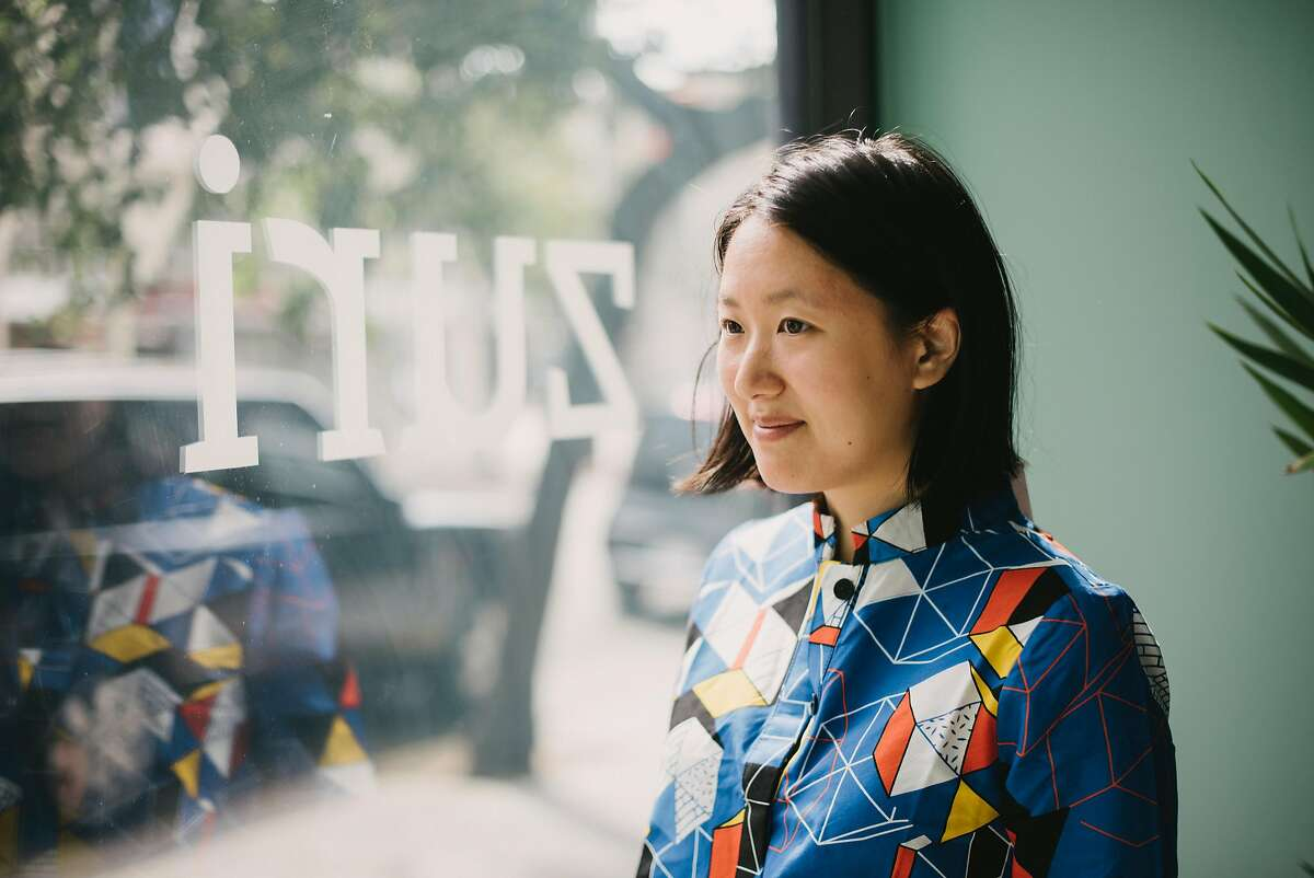 Co-owners Ashleigh Miller and Sandra Zhao (pictured) opened a second Zuri brick-and-mortar location on September 6 at�2029 Fillmore St.. The �just one dress� company, founded in November 2016, features bright, whimsical print A-line buttoned dresses with pockets (three-quarter sleeve and sleeveless) made from wax cotton African kitenge fabric scouted at markets in Tanzania.