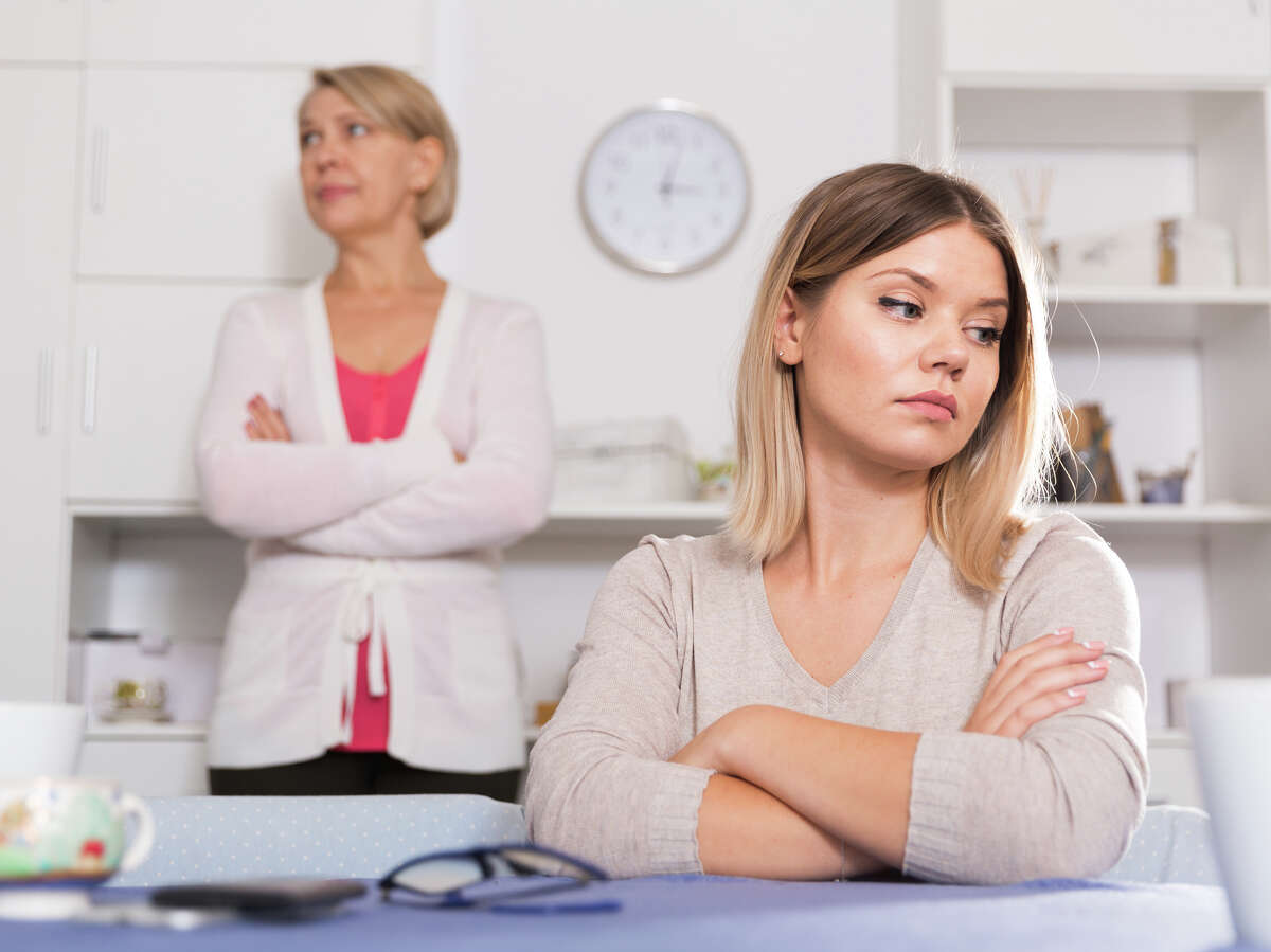 A mother is wondering if she should get involved with her daughter's marriage issues.