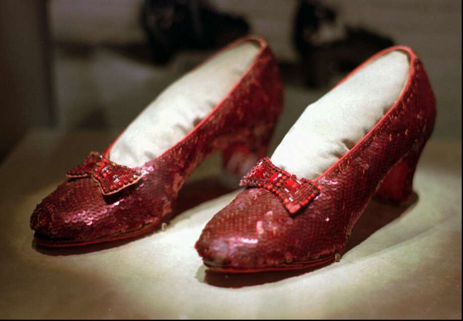 "The ruby slippers have been called ""the Holy Grail of Hollywood memorabilia."" The shoes were stolen in 2005 from the Judy Garland Museum in Grand Rapids, Minn. Photo: Ed Zurga / Associated Press 1996"