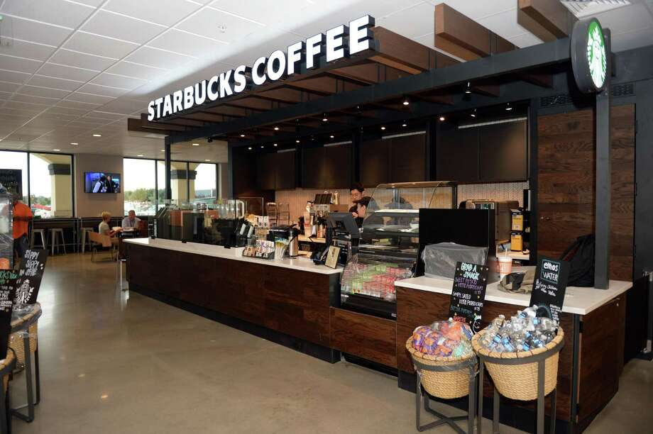 Starbucks is among the few companies that are both buying clean power and investing in tax equity.  Photo: Craig Moseley, Houston Chronicle / Staff Photographer / ©2018 Houston Chronicle