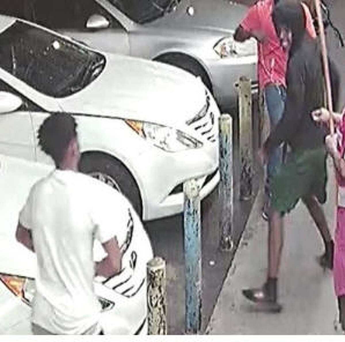 Three suspects are wanted in connection with a Sunday slaying in Third Ward.
