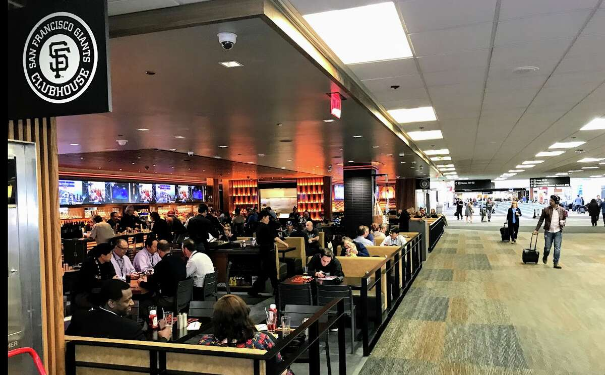 The new San Francisco Giants Clubhouse on Terminal 3 at SFO is a Priority Pass partner