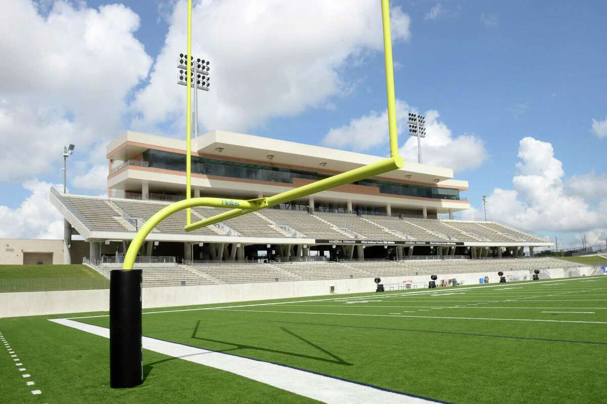 TEXAS' MOST EXPENSIVE HIGH SCHOOL FOOTBALL STADIUMS Legacy Stadium Katy ISD Cost:$70.3 million Opened:2017 Capacity:12,000