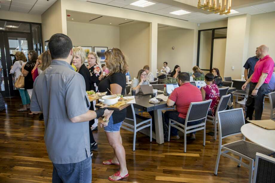 Press Cafe inside Sewell Ford showroom, 4400 Parks Legado Rd. 8/22/2018  Jacy Lewis/191 News Photo: Jacy Lewis/191 News
