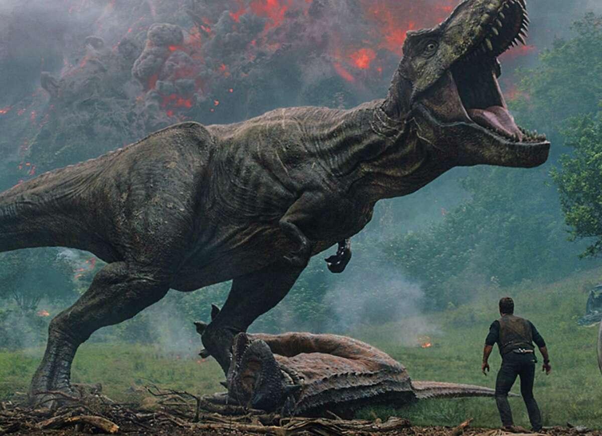 "Dinosaurs face extinction again in ""Jurassic World: Fallen Kingdom."""