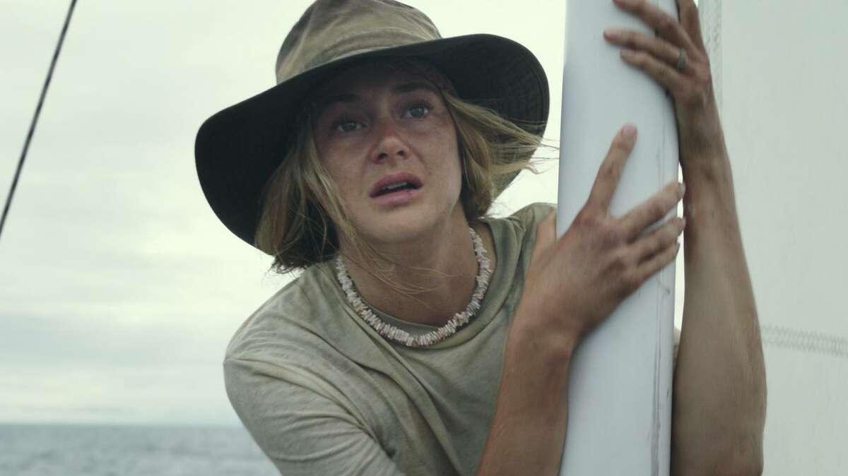 """Shailene Woodley is lost at sea in """"Adrift."""""""
