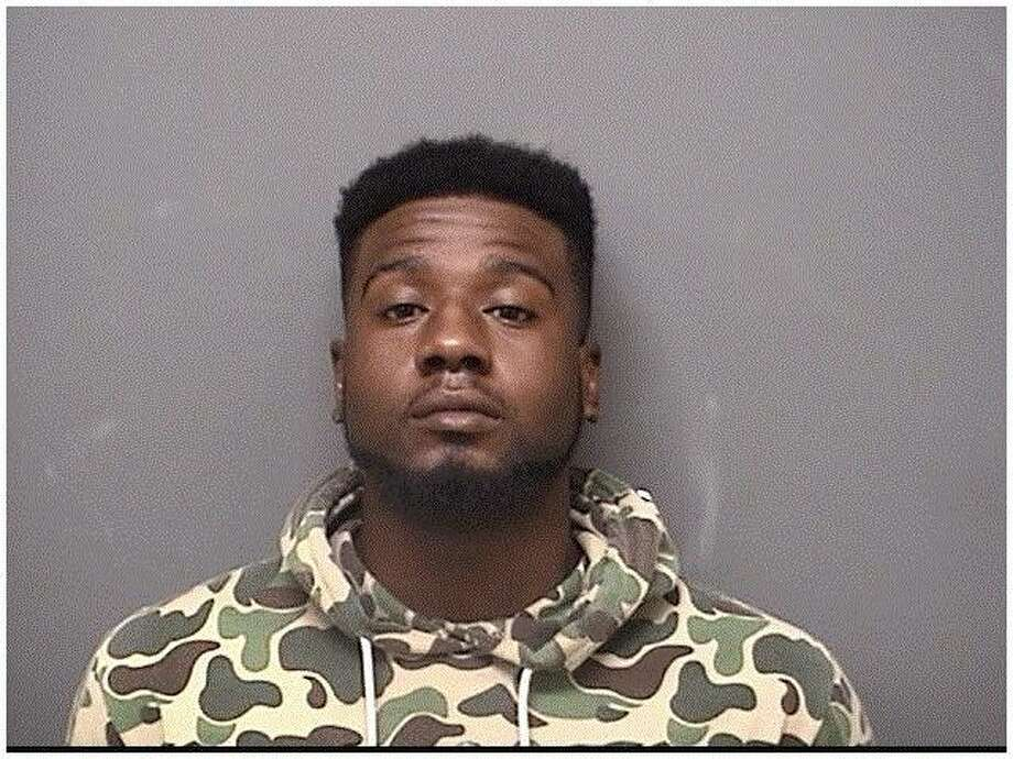 A mugshot of Khalile Thomas. Photo: /provided By Darien Police