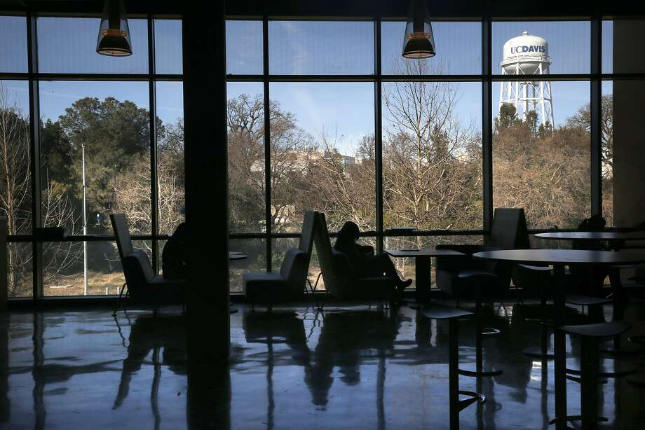 "A view of the campus from the RMI North building which houses the wine and food department at UC Davis in Davis, California, on Monday, January 25, 2016. In a complaint, filed Monday with the U.S. Department of Agriculture, the Ohio-based group Stop Animal Exploitation Now said UC Davis researchers were negligent in allowing the two deaths and called on regulators to take ""meaningful action against this lawbreaking lab."" Photo: Liz Hafalia / The Chronicle"