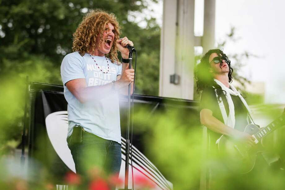 Whole Lotta Led performs during the Tribute to Conroe Music Festival on Saturday, Aug. 11, 2018, at Heritage Place Park in Conroe. Photo: Michael Minasi, Staff Photographer / Houston Chronicle / © 2018 Houston Chronicle