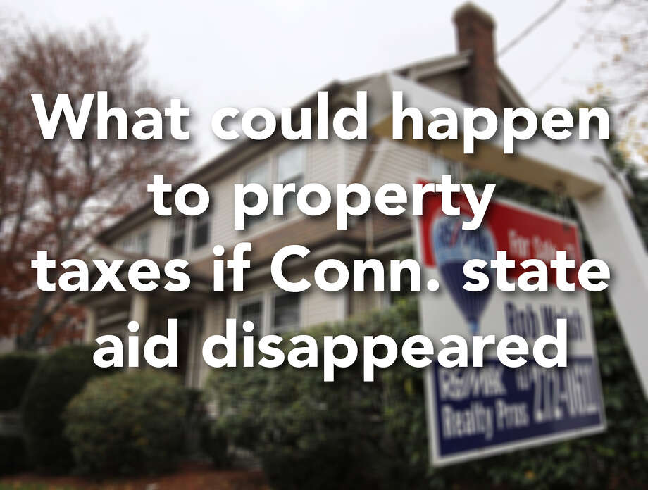 Ned Lamont claims Bob Stefanowski would have to wipe out all state aid to cities and towns if he were to eliminate the state income tax and corporate earnings tax.  Stefanowski disputes that. Here is what could happen in each town if all state aid were to disappear.... Photo: Ap