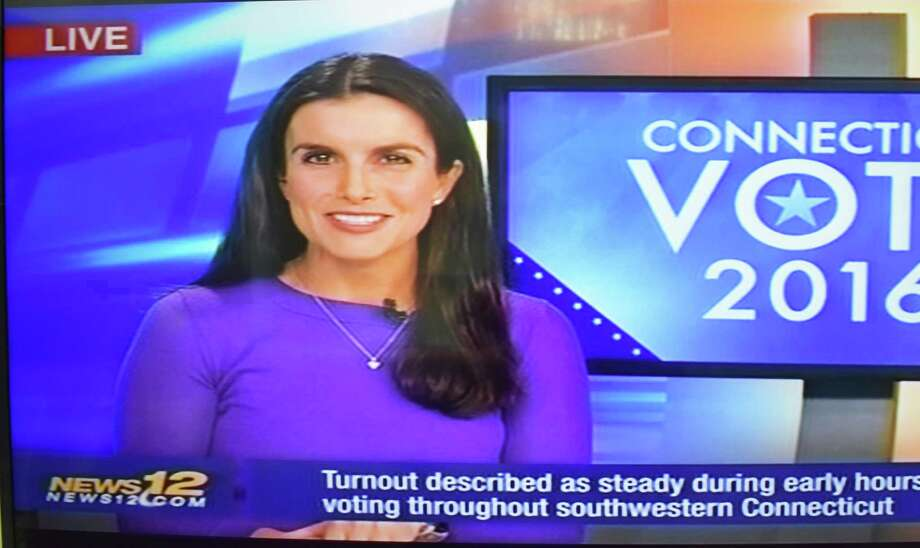 Election day coverage on Altice station News 12 Connecticut on Tuesday, Nov. 8, 2016. Photo: Alexander Soule / Hearst Connecticut Media / Stamford Advocate
