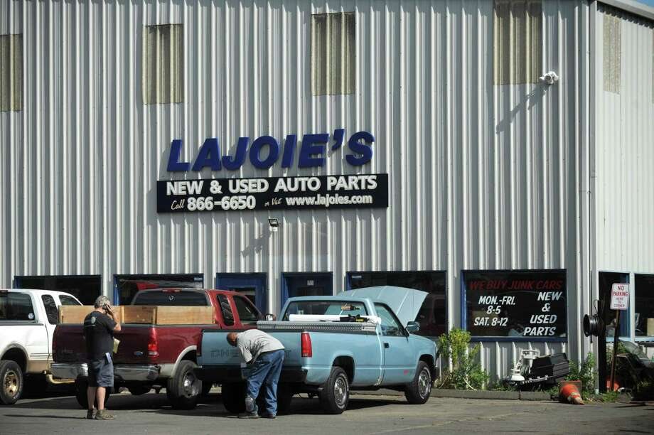 Lajoie's Auto Parts at 46 Meadow St. in Norwalk. Photo: Erik Trautmann / Hearst Connecticut Media / Norwalk Hour