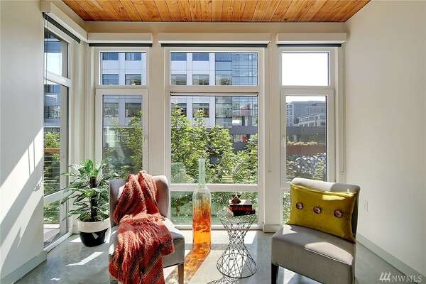 A sweet one bedroom condo in South Lake Union's Veer complex runs $499,500.