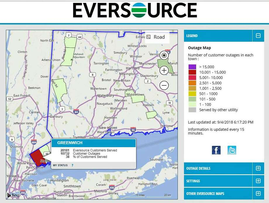 Cl P Power Outage Map.More Than 10k Without Power In Greenwich Greenwichtime