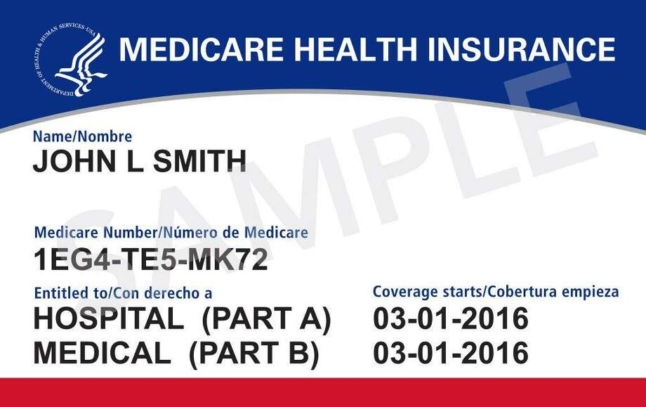 The new cards will no longer have your Social Security number on them. Instead, they'll have a new Medicare number that's unique to you and will be used for only your Medicare coverage. Photo: Courtesy Photo
