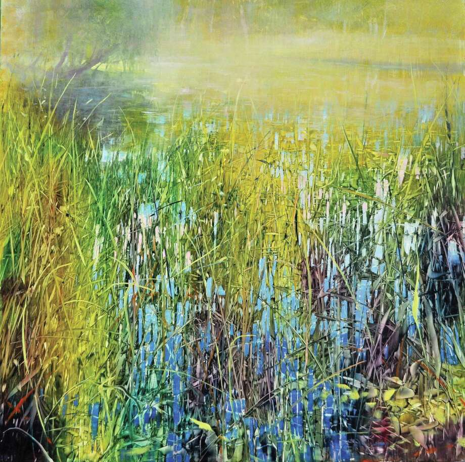 "The Susan Powell Gallery's new show, Rhythms of Nature, opens with a reception Friday night. Above, ""Morning Sunlight"" by David Dunlop, oil on aluminum. Photo: Contributed Photo"