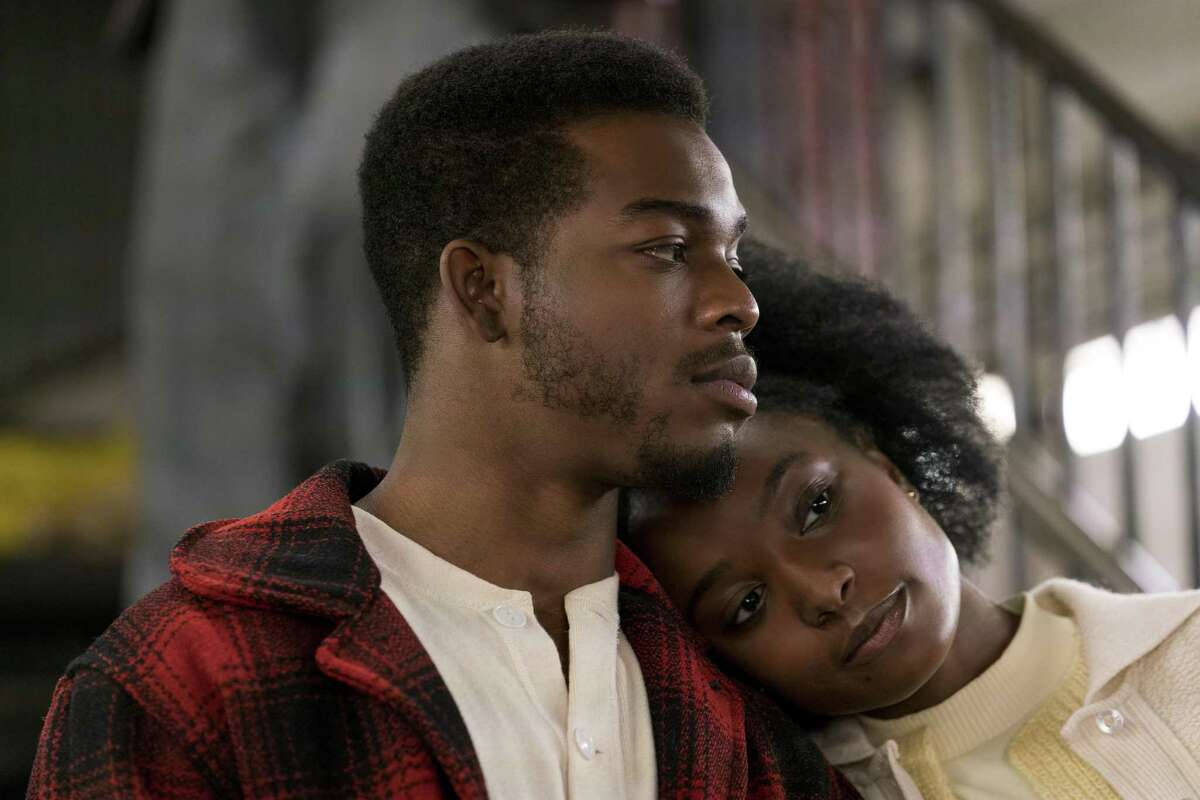 """Stephan James, left, and KiKi Layne in a scene from """"If Beale Street Could Talk,"""" in theaters on Nov. 30."""