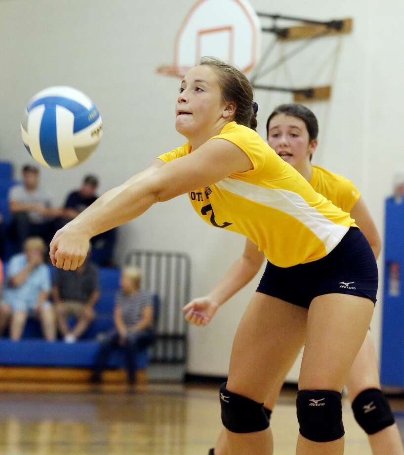 Caseville at North Huron — Volleyball Photo: Paul P. Adams/Huron Daily Tribune