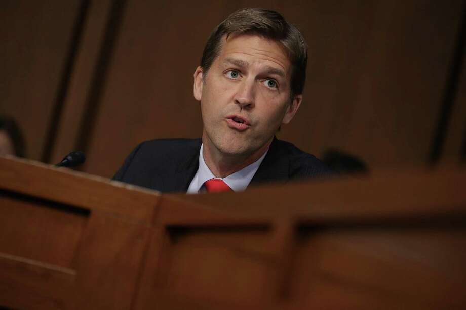 WASHINGTON, DC - SEPTEMBER 04:  U.S. Sen. Ben Sasse (R-NE) delivers remarks as Supreme Court nominee Judge Brett Kavanaugh appears for his confirmation hearing before the Senate Judiciary Committee in the Hart Senate Office Building on Capitol Hill September 4, 2018 in Washington, DC. Kavanaugh was nominated by President Donald Trump to fill the vacancy on the court left by retiring Associate Justice Anthony Kennedy.  (Photo by Chip Somodevilla/Getty Images) Photo: Chip Somodevilla, Staff / Getty Images / 2018 Getty Images