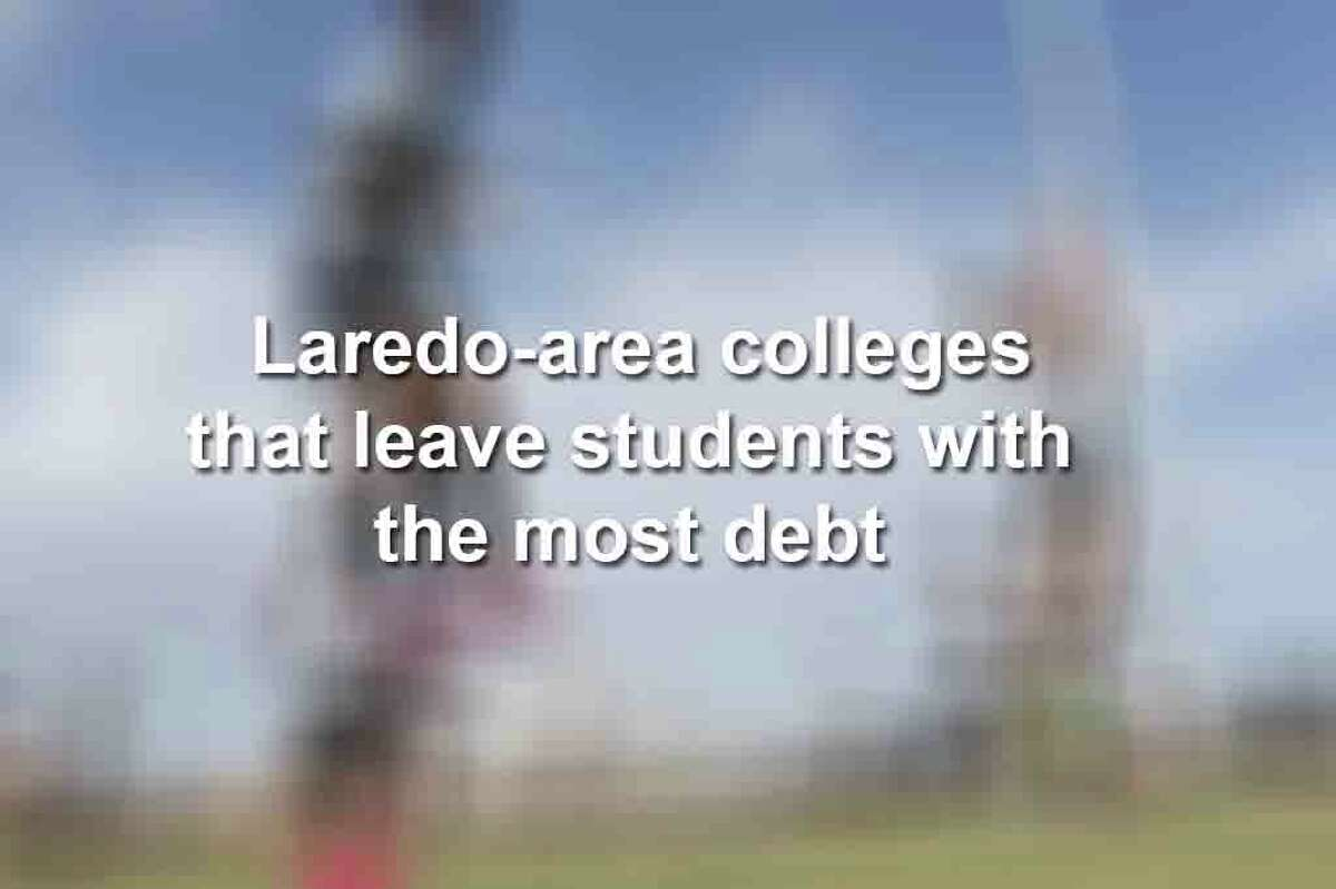Keep scrolling to see how much debt Laredo-area student are left with after graduating.