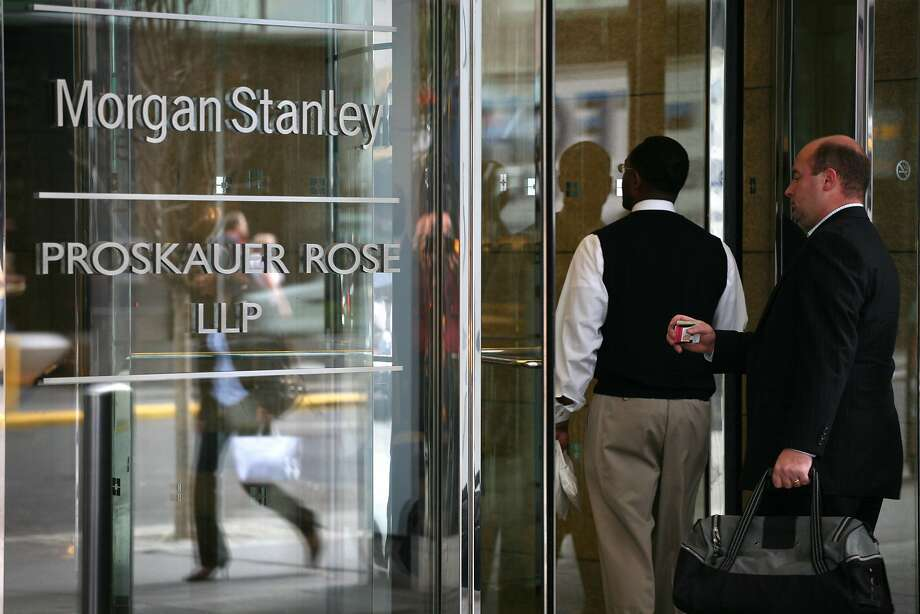 Morgan Stanley has long cultivated a relationship with Palantir, which is expected to file for an IPO soon. Photo: Mark Lennihan / Associated Press 2008