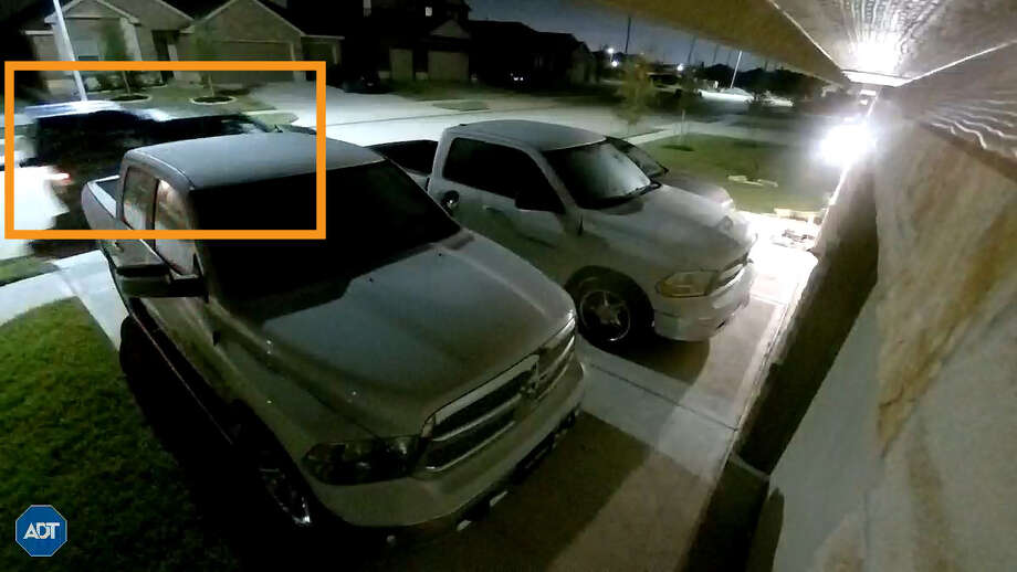 PHOTOS: Door thefts caught on cameraThe suspect vehicle in these photos has been linked to thefts of doors from Manvel homes under construction on Aug. 17, 2018, the Manvel Police Department reports. >>>See other suspect vehicle photos... Photo: Manvel Police Department