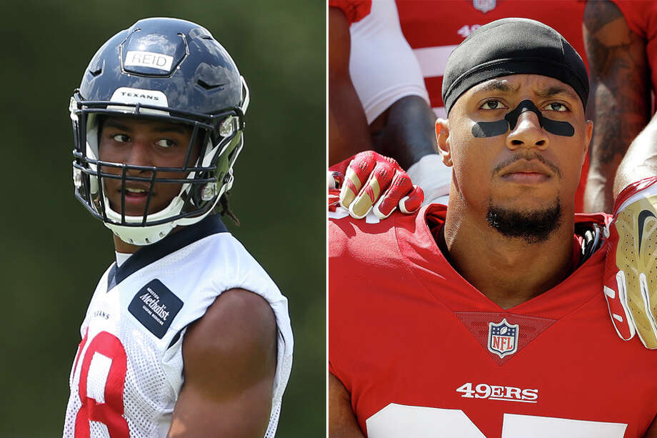 quite nice 4cd92 3883a Texans' Justin Reid on brother Eric Reid joining Panthers ...