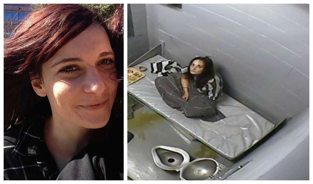 PHOTO: Surveillance camera captured Texas woman's last few hours in jail Kelly Coltrain, 27, of Austin, was found dead in her cell in Nevada's Mineral County Jail on July 22, 2017, after suffering a seizure related to drug use. This is after she had asked for medical help. >>Swipe through to see photos of Coltrain before and during her incarceration...