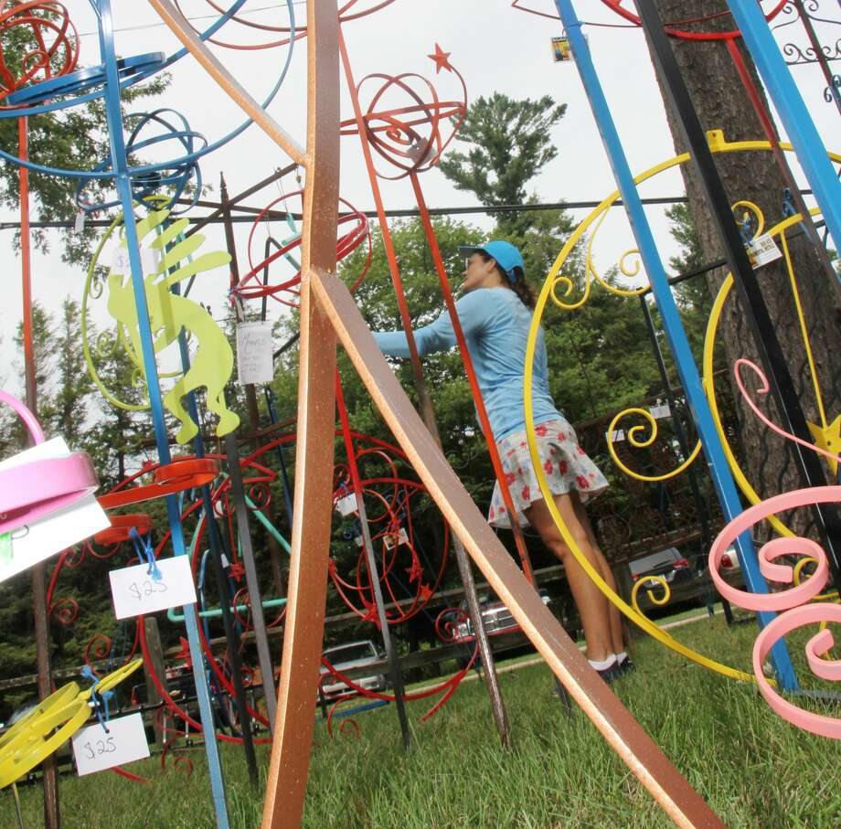 Artists took over Gallup Park during Labor Day Weekend for the annual Art in the Park event, hosted by the Thumb Arts Guild. Photo: Bradley Massman/Huron Daily Tribune