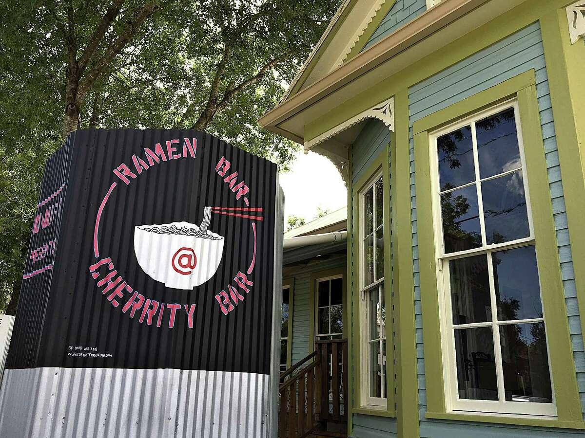 Ramen Bar at Cherrity Bar on Montana Street in San Antonio is a spinoff of the Kimura Japanese ramen shop from Restaurant Gwendolyn chef Michael Sohocki.