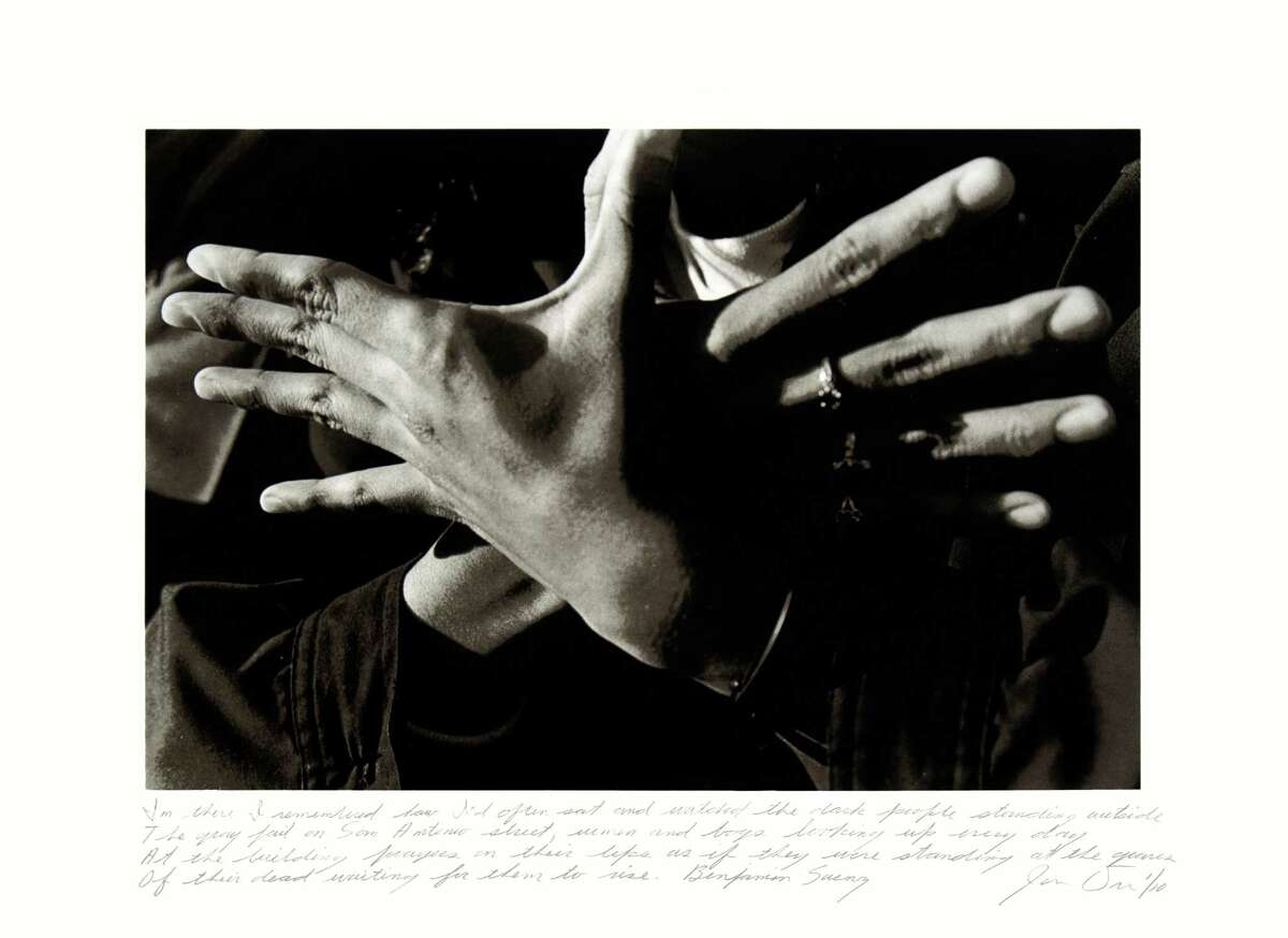 """James Drake's lithograph """"Tongue-Cut Sparrows, In There I remembered"""" is among works on view at Moody Gallery Sept. 8-Oct. 13. The artist speaks at 5 p.m. Saturday."""