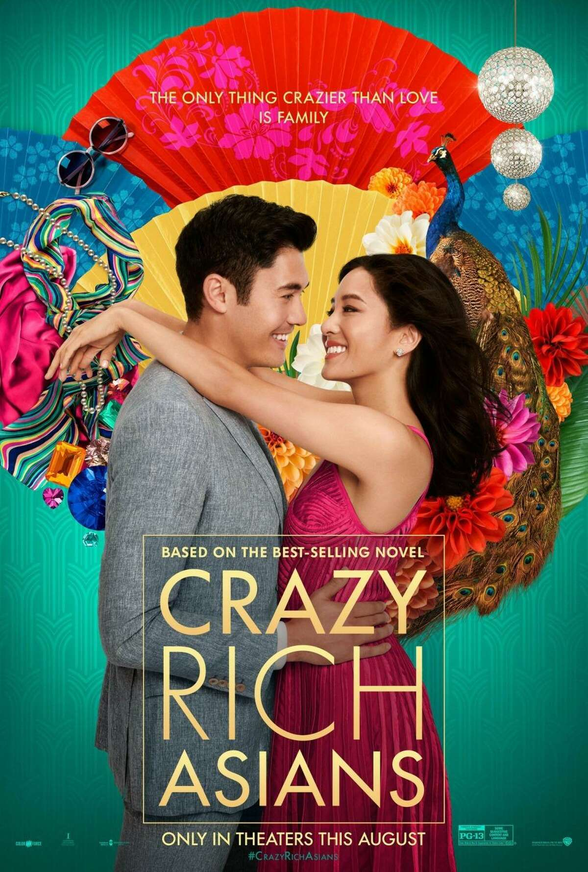"""A poster for the movie """"Crazy Rich Asians."""""""