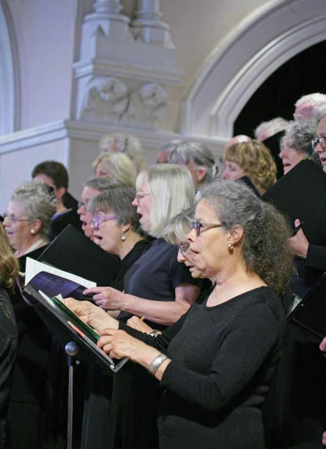 The Kent Singers choral group in concert. Photo: Kent Singers