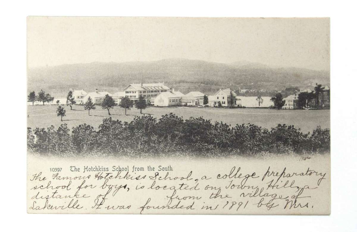 A vintage photo of the Hotchkiss School area.