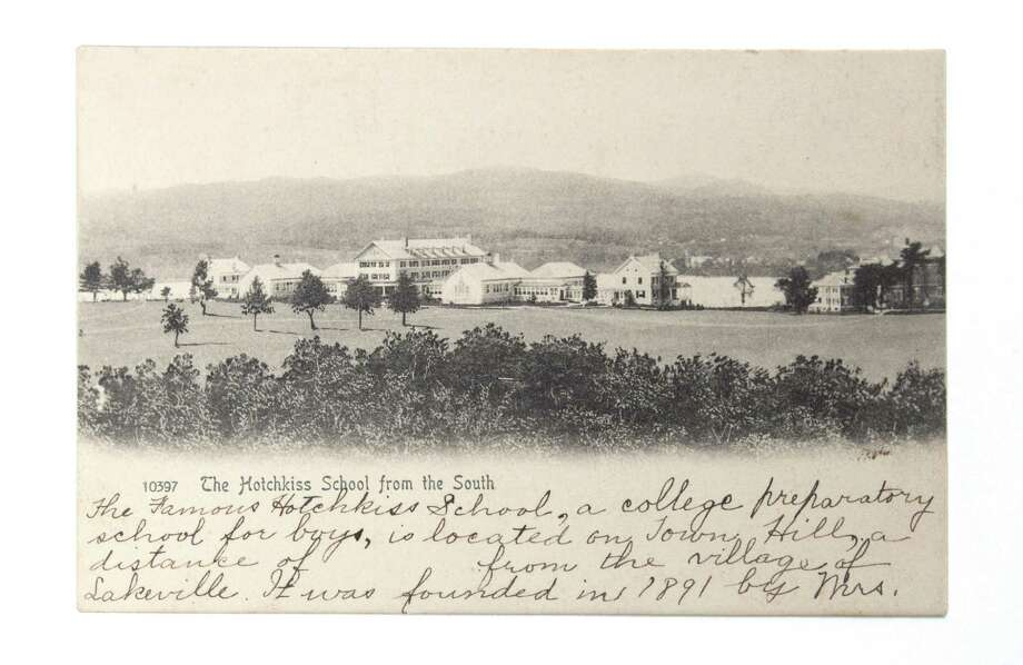 A vintage photo of the Hotchkiss School area. Photo: Colleen MacMillan Photography / Contributed Photo / Colleen MacMillan Photography