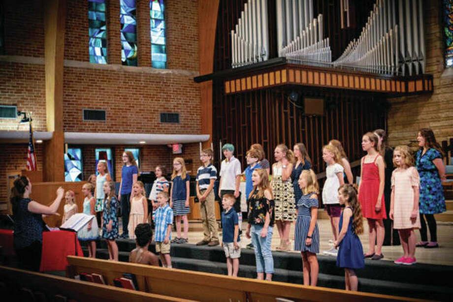 The Masterworks Children's Chorus. Photo: For The Intelligencer