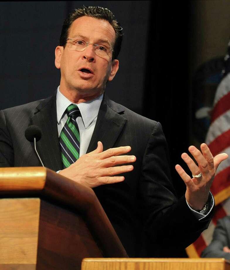 Connecticut Gov. Dannel P. Malloy Photo: Jim Michaud / Ap File / Journal Inquirer