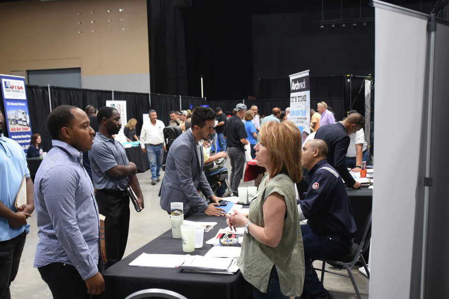 Midland Job Fair September 5, 2018, at Horseshoe Arena. James Durbin/Reporter-Telegram Photo: James Durbin / ? 2018 Midland Reporter-Telegram. All Rights Reserved.