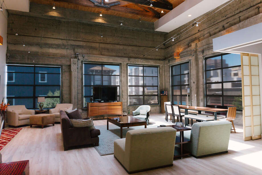 You can rent this swanky loft conversion with its own rooftop deck for $10K a month, or $120K a year, Photo: Vesta Asset Management, SF