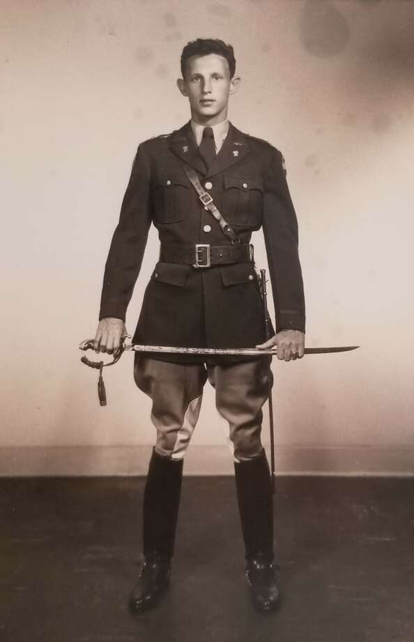 Sherman H. Hink in 1951 in a Texas A&M University Corp of Cadets uniform his senior year. Photo: NEC Signage + Architectural Products