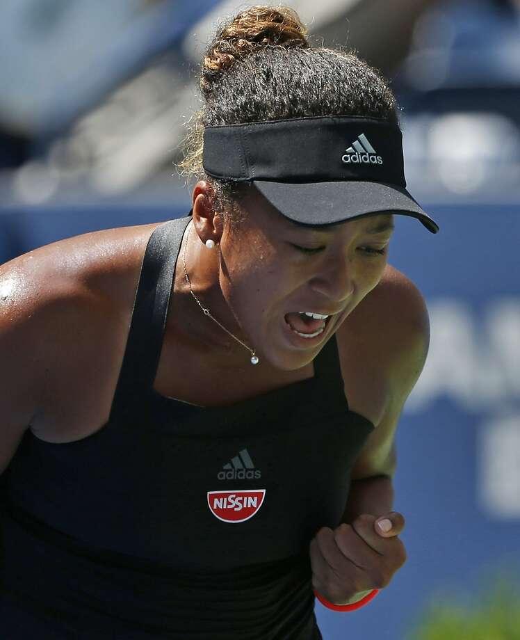 Japan's Naomi Osaka made her first Grand Slam semi. Photo: Jason DeCrow / Associated Press