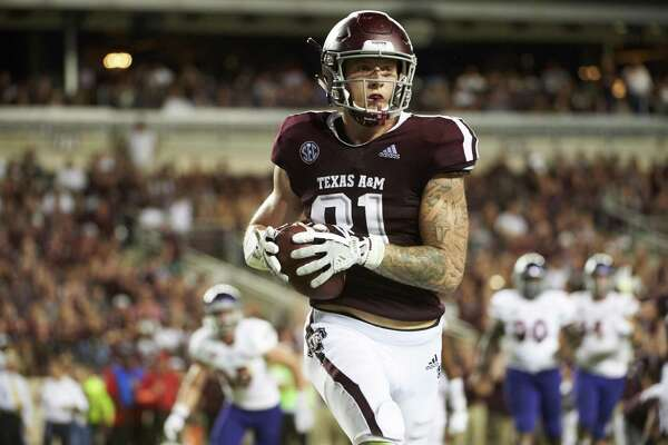 74f88ba94c1 Jace Sternberger fits Texas A M s new role for tight ends ...