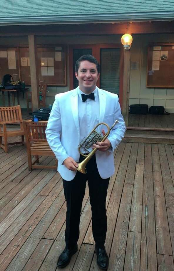 Sam Huss is living his dream of playing the trumpet. The former Sanford resident began playing the instrument in fifth grade and now is employed with the Richmond Symphony. (photo provided)