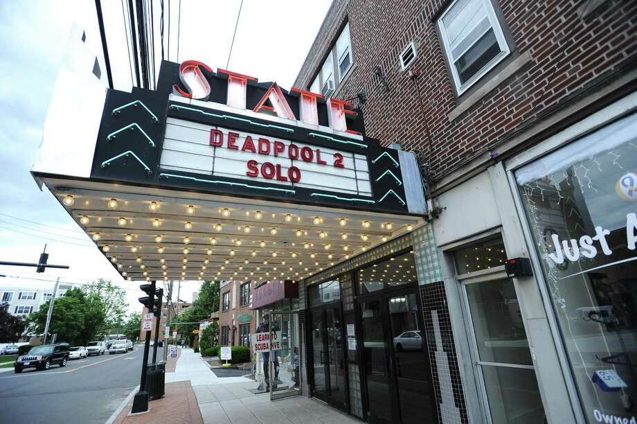 State Cinema movie theater in Stamford closed on Labor Day. Photo: Michael Cummo / Hearst Connecticut Media / Stamford Advocate