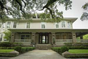 Civic leader, historic preservationist and real estate execetive Bill Baldwin is selling his house on Bayland Avenue in the Heights, Wednesday, Sept. 5, 2018 in Houston. This is the second renovation by Baldwin of the home built in 1910 after originally converting it back to a house after it served as a nursing home for seventy years.